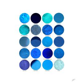 Pigments Bleus Blue Pigments