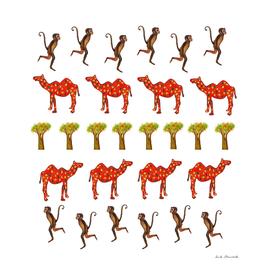 Camels & Monkeys