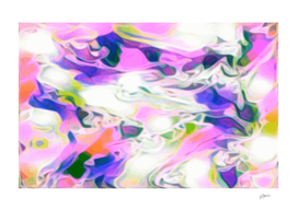 White Purple Marble - purple pink white abstract swirls