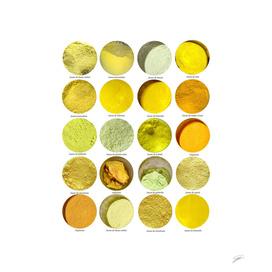 Pigments Jaunes Yellow Pigments