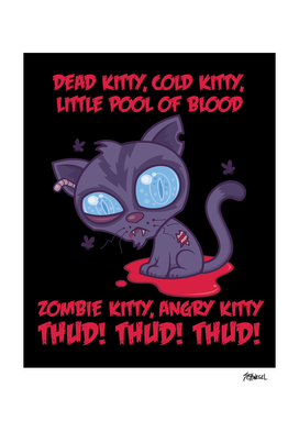 Dead Cold Angry Zombie Kitty
