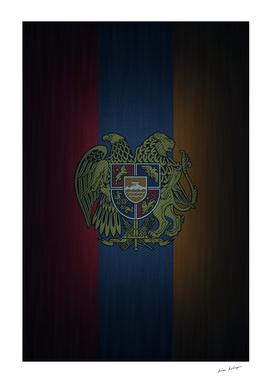 Armenian flag on jean