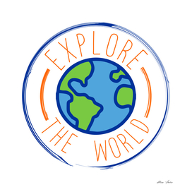 Explore The World, Travel, travel poster, travel t shirt,