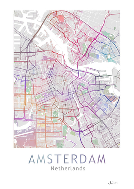 AMSTERDAM Map Color