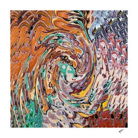 Abstract Marble Painting V