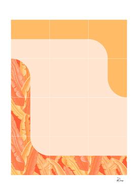 Mid-Century Tropical Orange Style