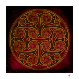 celtic spiritual pattern art