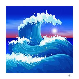 japanese wave japanese ocean waves