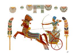egypt egyptian pharaonic horses