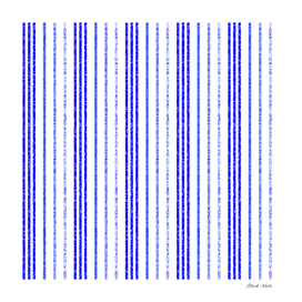 Thin Blue Speckled Vertical Line Pattern