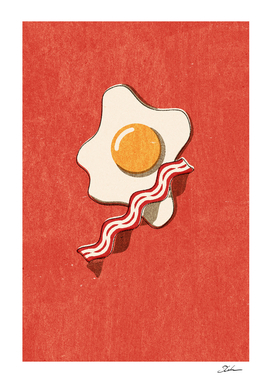 FAST FOOD / Egg and Bacon
