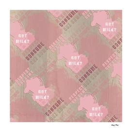 MILK ? pink pattern