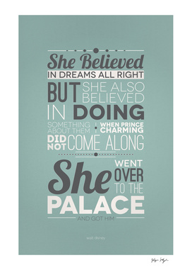 She Believed in Dreams