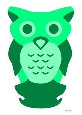 Sea Green Owl
