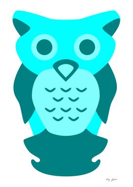 Cyan Owl