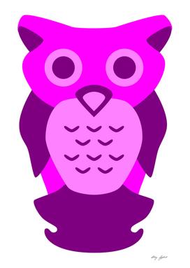 Purple Owl