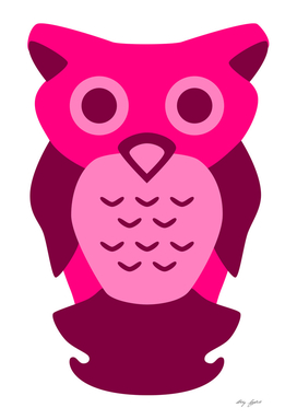 Magenta Owl