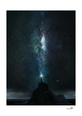 cosmic lighthouse