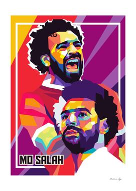 MO SALAH Pop Art