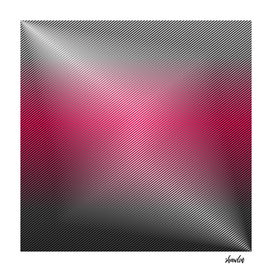 pattern in hot pink and silver