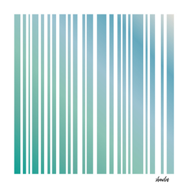 Abstract corporate sea green vertical stripes