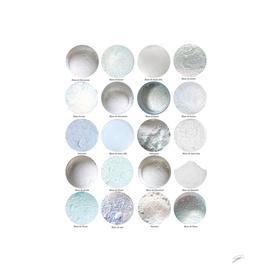 Pigments Blancs. White Pigments