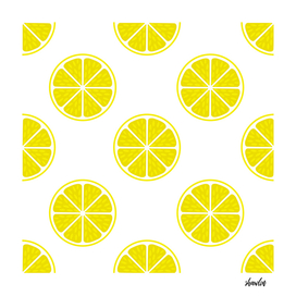 Bright Lemon slice