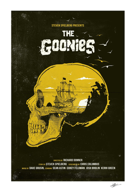 The Goonies movie art
