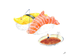Fishing your SUSHI
