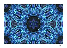 Background Blue Flower