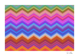 Pattern Chevron Zigzag Background