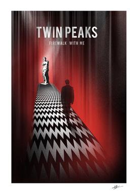 Agent Cooper Twin Peaks movie art