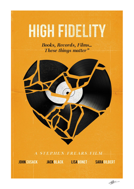 High Fidelity movie art