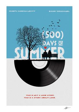 500 days movie art