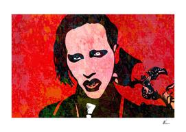 Marilyn Manson | Splatter Series | Pop Art