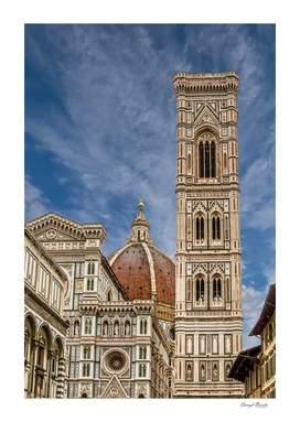 Il Duomo and Bell Tower in Florence