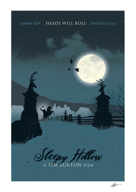 Sleepy Hollow movie art