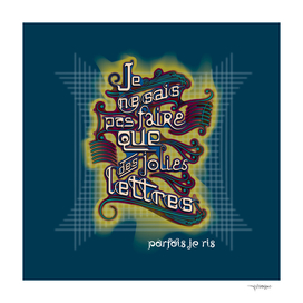 JOLIES LETTRES