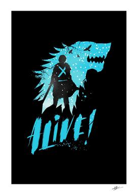 Jon Snow art