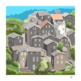 village place portugal landscape