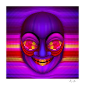 Psychodelic portrait