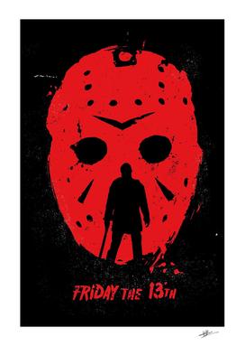Friday 13th movie art