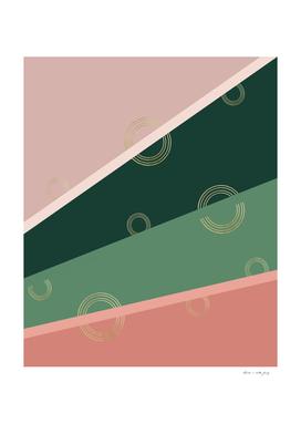 Summer Delight Stripe Glam #1 #minimal #decor #art