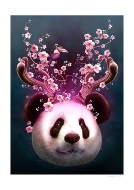 PANDA HORNS UP