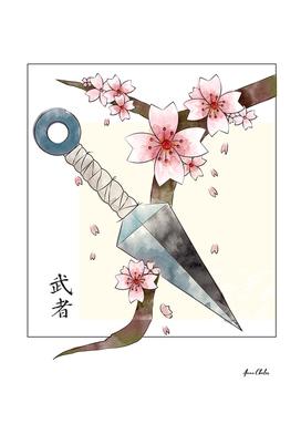 Kunai and Sakura