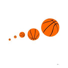 Motif Ballons de basket