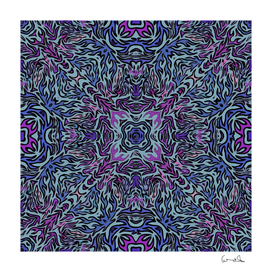 pattern fire purple repeating