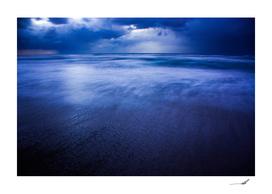 Winter storm over Sidni Ali beach