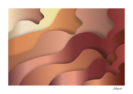 Autumn copper gradients