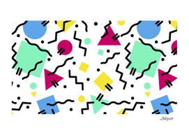 abstract squqre chevron